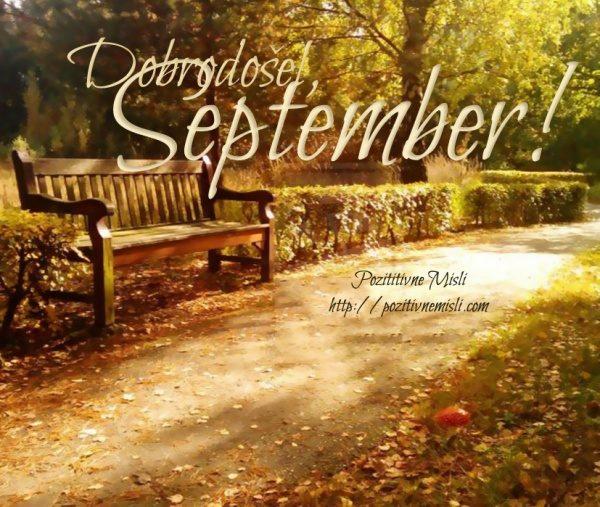 September - Misli za september