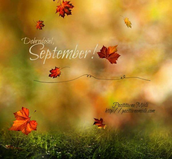 September, dobrodošel