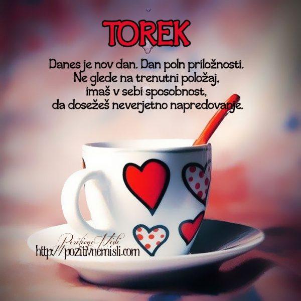 TOREK - Danes je nov dan