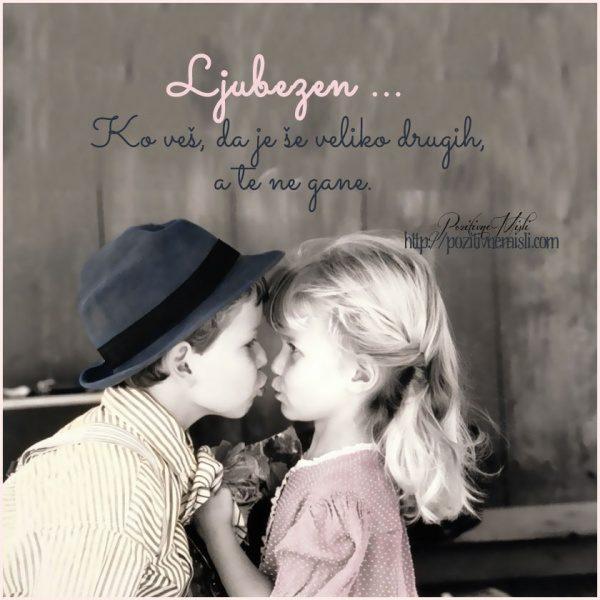 Ljubezen ... Ko veš, da je še veliko drugih, a te ne gane.