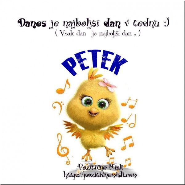 PETEK - Danes je najboljši dan v tednu