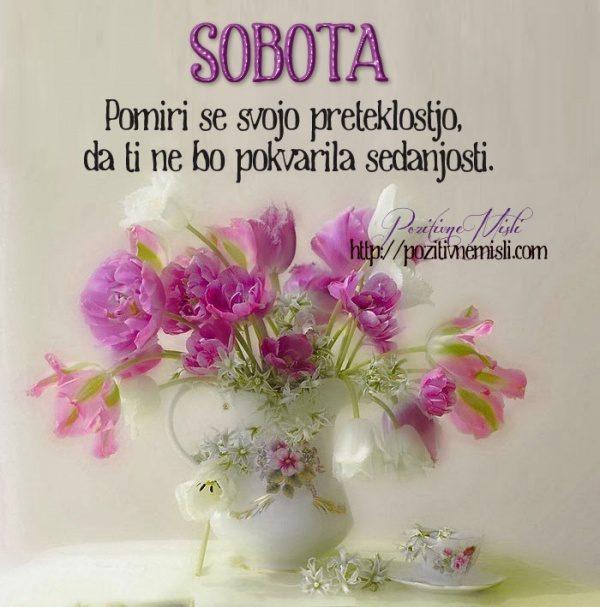 SOBOTA - Pomiri se