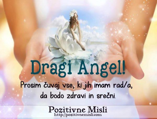 DRAGI ANGEL - Prosim čuvaj mojo družino