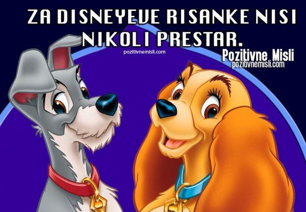 Za Disneyeve risanke ...