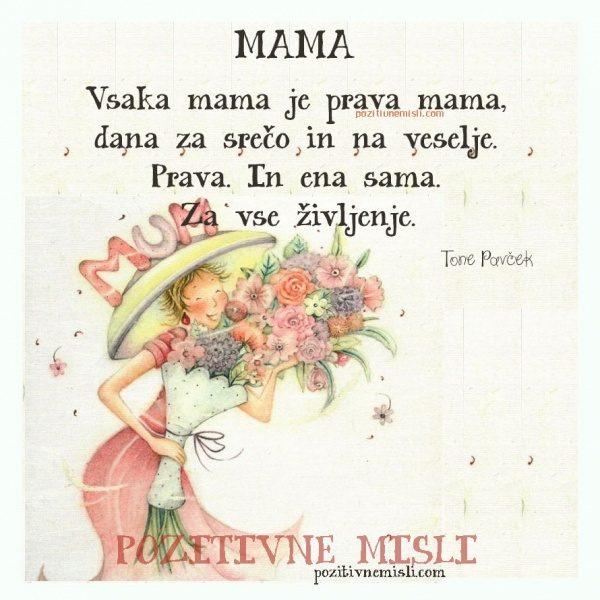 Vsaka mama je prava mama