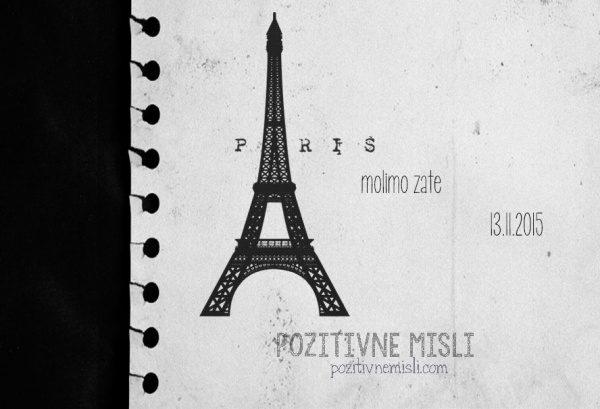 Pariz - v spomin