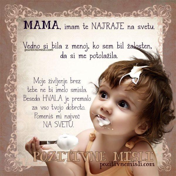 vse najboljše mami za rojstni dan