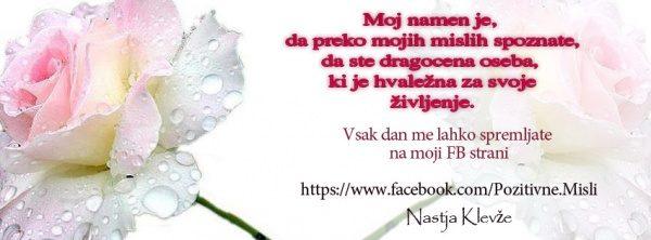 Facebook časovnica - Dragocena oseba ste