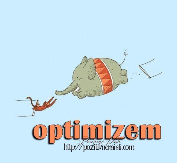 Optimizem - motivacija