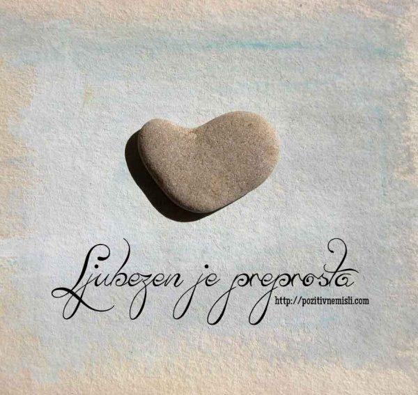 Ljubezen je preprosta