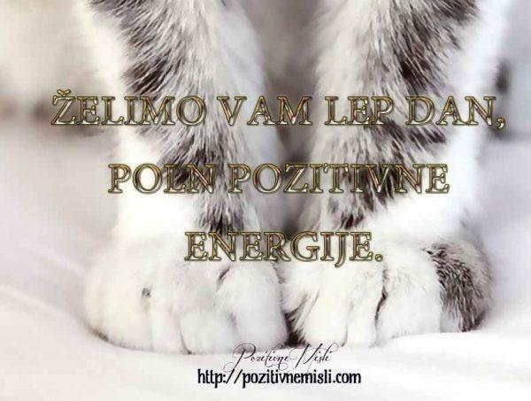 Želimo vam lep dan, poln pozitivne energije