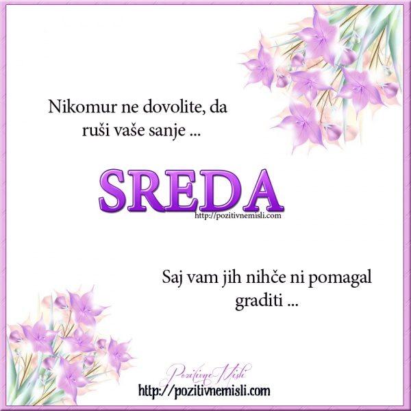 SREDA - Nikomur ne dovolite