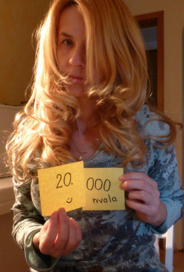 20.000 všečkov  - Pridruži se še ti na fb
