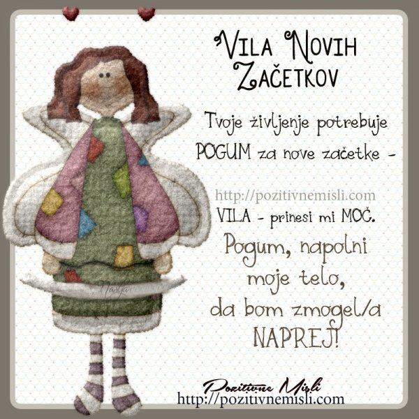 VILA NOVIH ZAČETKOV -
