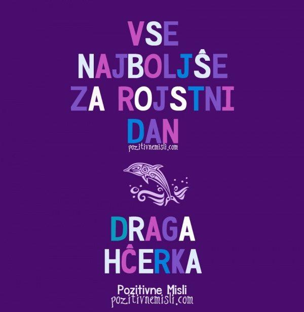 DRAGA HČERKA - Vse najboljše za rojstni dan