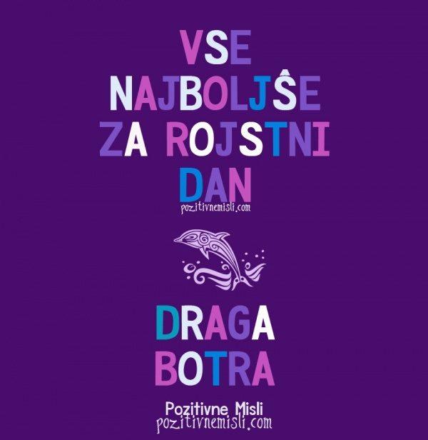 DRAGA BOTRA - Vse najboljše za rojstni dan