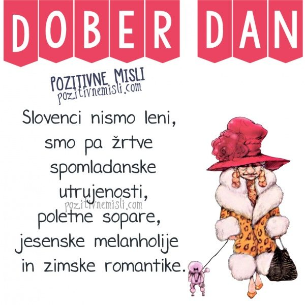 Slovenci nismo leni