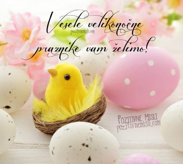 Vesele velikonočne praznike vam želimo!