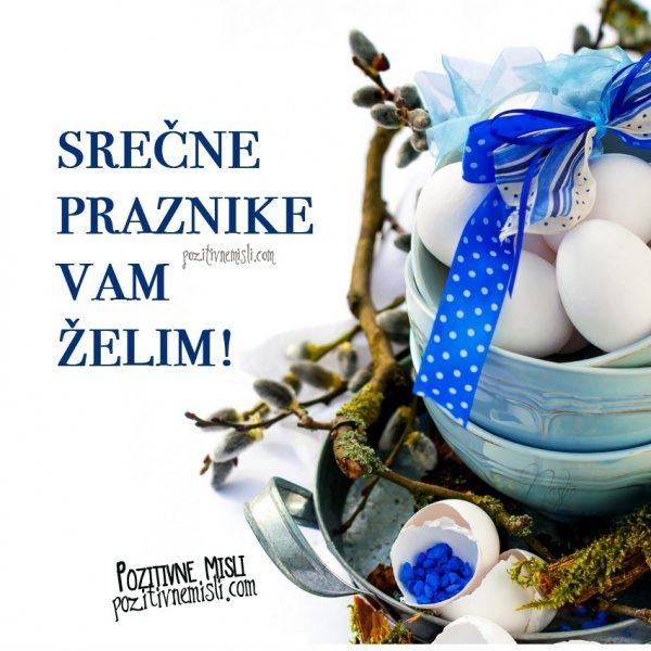 Velikonočna voščila - Srečne velikonočne praznike vam želim