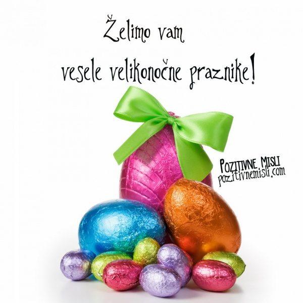 Želimo va vesele velikonočne praznike
