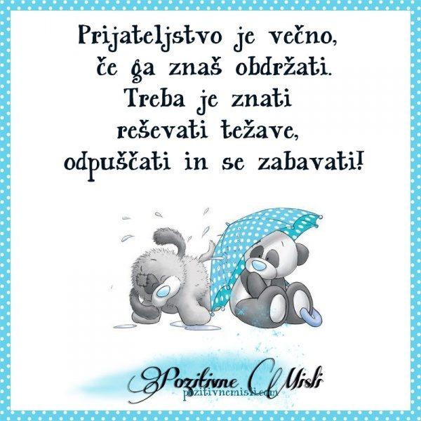 Prijateljstvo je večno  ❤
