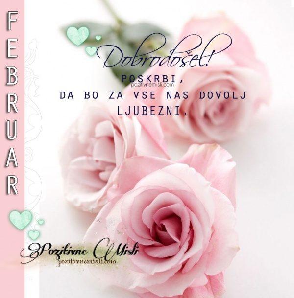 Februar  - mesec ljubezen