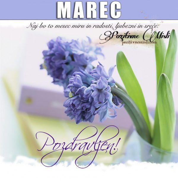 Marec, dobrodošel mesec marec