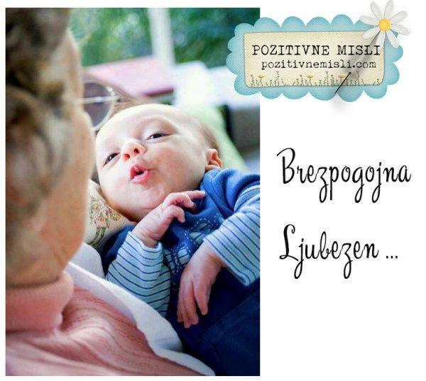 Brezpogojna ljubezen - babica in vnuk