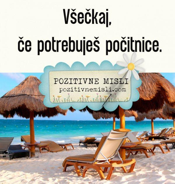 Všečkaj, če potrebuješ počitnice ❤