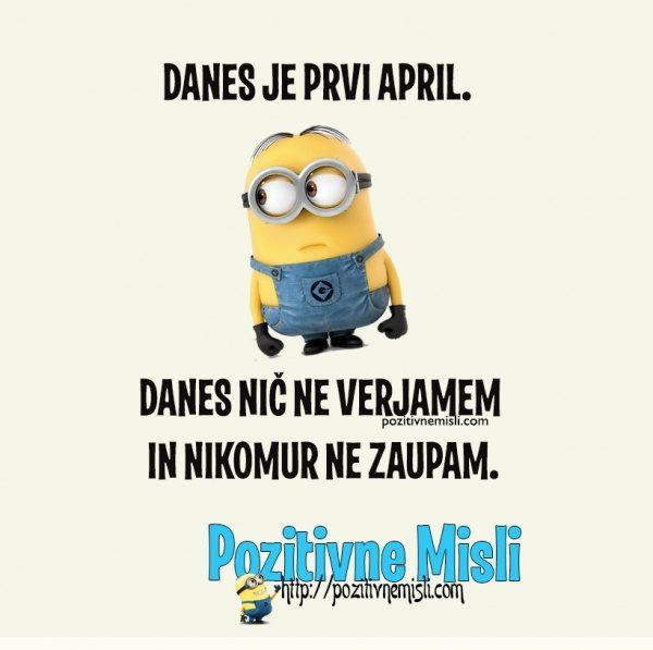 PRVI APRIL - DAN NORCEV -
