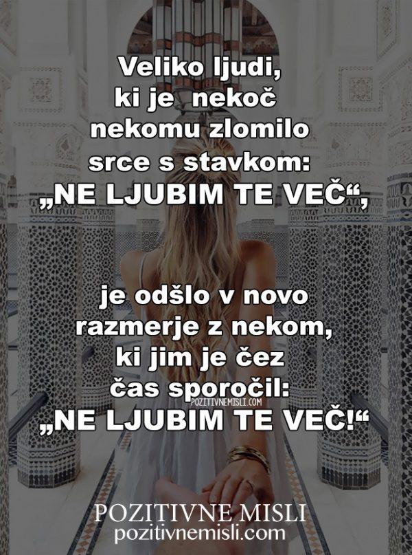 """""""NE LJUBIM TE VEČ"""""""