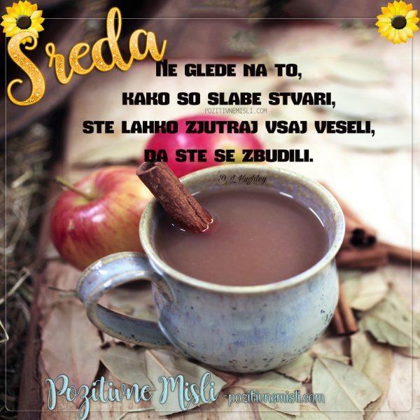 SREDA - najlepše misli za dobro jutro