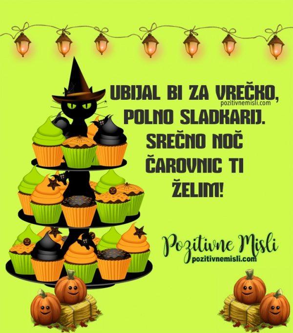 Srečno noč čarovnic ti želim!