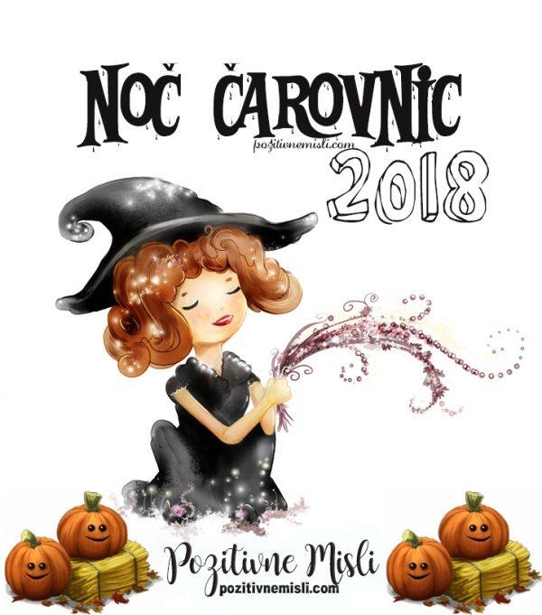 NOČ čarovnic - 2018