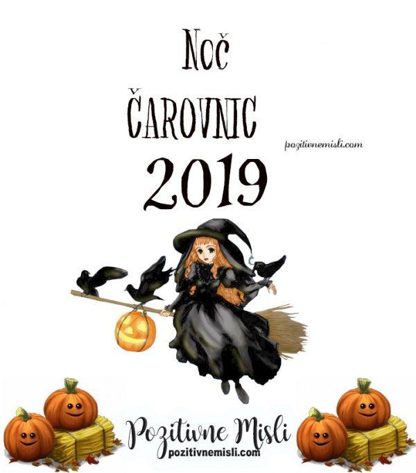 Noč čarovnic 2019 - Veselo noč čarovnic želimo