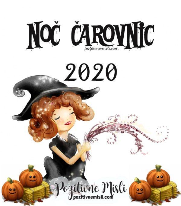 NOČ čarovnic 2020