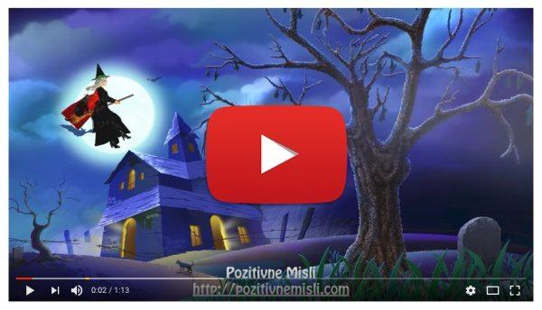 Noč čarovnic  - zabavne misli za noč čarovnic