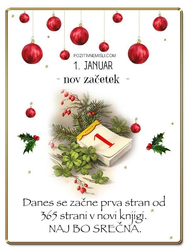 1. januar - Srečno novo leto