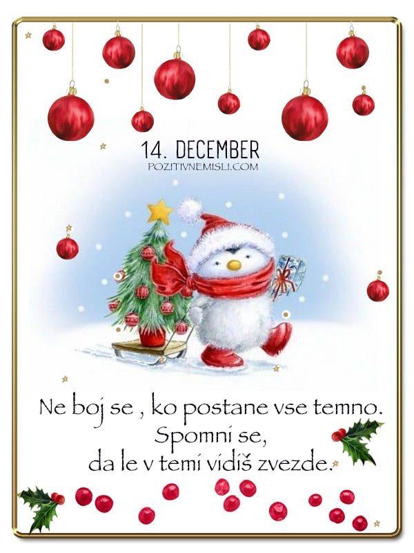 14. DECEMBER - Adventni koledar lepih misli in želja