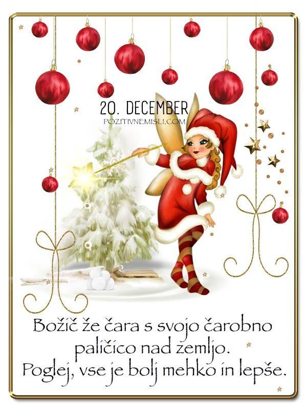 20. DECEMBER - Adventni koledar lepih misli in želja