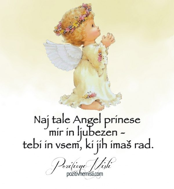 Angel za mir in ljubezen