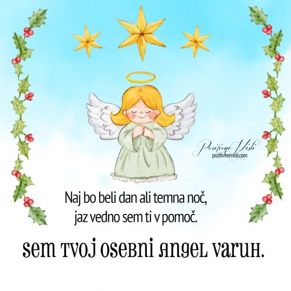 Angel varuh - tvoj Angel varuh