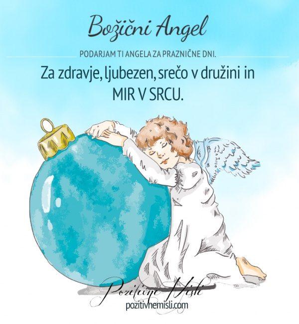 BOŽIČNI ANGEL- za zdravje, ljubezen
