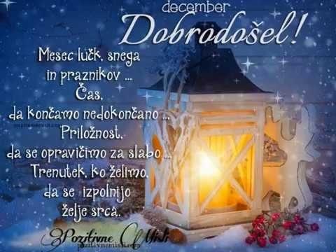 Lep december ti želim