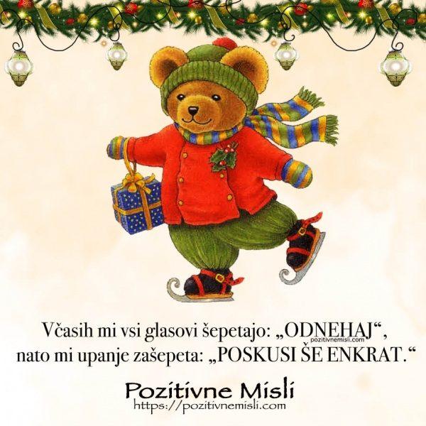 Božične misli ti polepšajo december