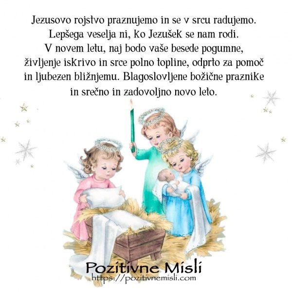 Blagoslovljen božič in srečno novo leto