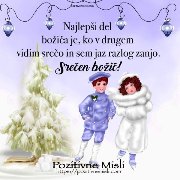 Lepi božični verzi in misli za novo leto - Najlepši del božiča je