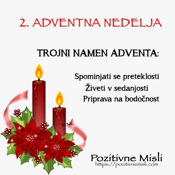 ADVENT- 2. adventna nedelja