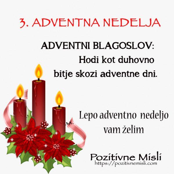 ADVENT- 3. adventna nedelja