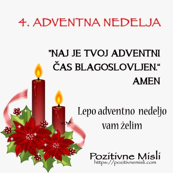 ADVENT - 4. adventna nedelja